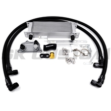 Auto 12 Rows Oil Cooling Transmission EA888 Engine Oil Cooler Kit With Hose Fittings