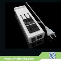 6 ports 5v 7A 5V 2A EU/US plug universal usb wall charger power adapter