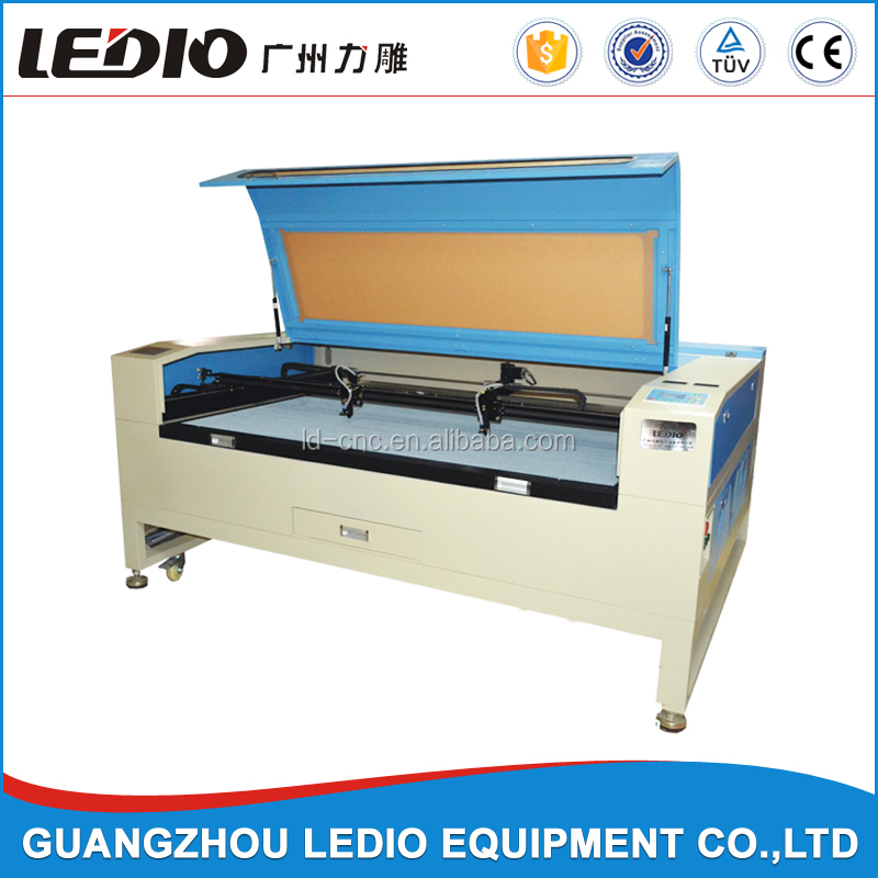 2016 hot sale 60w 80w 100w 120w co2 laser cut photo frames machine LD1390