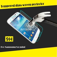 Newest premium tempered glass screen gaurd for samsung galaxy s3 mini/s4 mini tempered glass screen protector paypal accept OEM