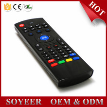 Soyeer High quality MX3 Keyboard 2.4G Remote Control Wireless Keyboard+Air Fly Mouse+IR Remote Control For XBMC Android Mini PC