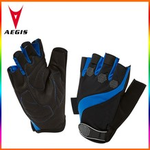 2015 fitness sports gel fingerless bicycle glove/ cycle half finger glove supplier in China