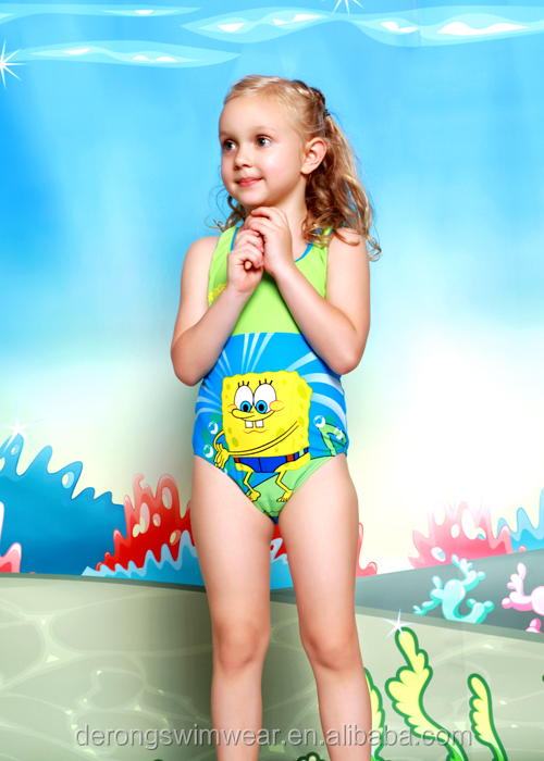 New design hot sale kids swimwear / girl bikini / baby beachwear