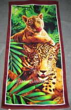 HOT SALL!! 100% cotton promotional printed beach towel