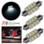 Car Dome light Festoon Interior Light Bulbs Auto Roof 36mm Festoon 8SMD 5630 LED PA