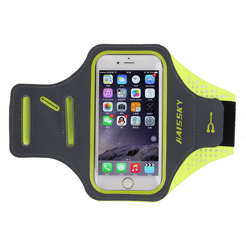 "High Quality Sport Bike Jogging Running Lycra Armband for Iphone 6 Plus 6s Plus + 5.5"" Case for Samsung Galaxy Note"