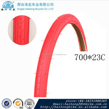 Folding Bicycle Tire 700C Colored tire/Road Bike Tires factory wholesale