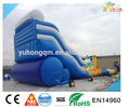 2017 latest design kids & adult inflatable water slide with pool for sale, Guangzhou manufacturer for sale