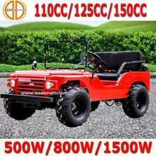 Bode factory Quality Assured 125cc willys jeep car for sale (MC-424)