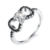 Wholesale rings 925 sterling silver Jewelry for women