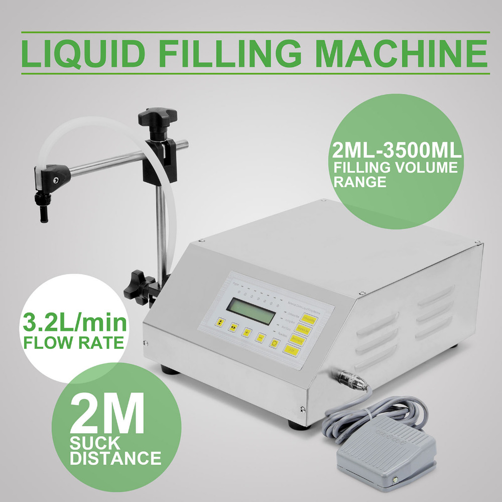 Digital Control Pump Liquid Filling <strong>Machine</strong> Updated Model GFK-160 2ML-3500ML