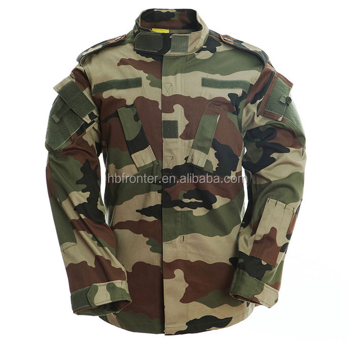 FRONTER Army Combat Uniform- ACU french camouflage tactical uniforms