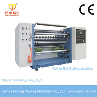 High Speed Automatic Non Woven Fabric Slit Cutting Machine
