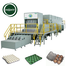 HGHY Fully Automatic Recycling Paper Egg Tray Machine with 3000~6000pcs/h