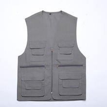 Lightweight multi pockets fishing Vest with mesh