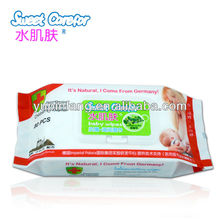 Cheap Baby Antibacterial Wipes 80pcs + Plastic Lid/Cover
