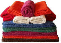 100% Organic cotton solid color bath towels for whole sale