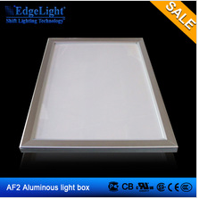 ultra slim fast delivery time manufacture group produced <strong>size</strong> and print OEM light box