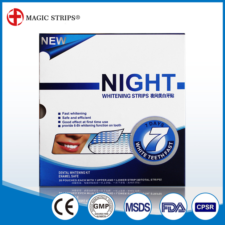 Innovative Oral Care Private Lable Teeth Whitening Night Strips