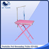portable pet grooming table