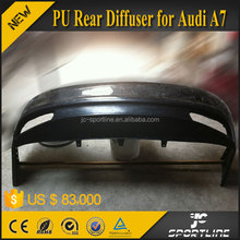 JC Sportline PU Rear Bumper Diffuser for Audi A7