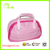 Hot sales pretty pink canvas handbag for shopping and promotiom