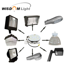 UL list 60W 100W 150 watt led parking lot led retrofit kit for outdoor street lighting and pole light with 5 year warranty