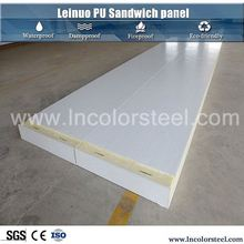 thermal insulation china rigid polyurethane foam sandwich panel insulated with pu or pur or pir