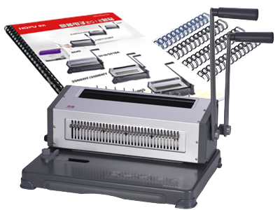 WD-2088WF/2088WY Manual Wire Binding Machine
