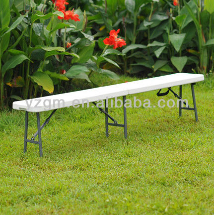 185cm Plastic Outdoor Bench Blow Mold, HDPE Bench
