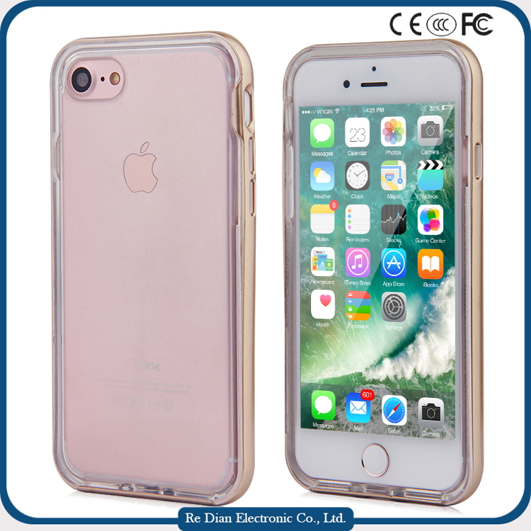 2016 New Product Original Silicone soft high transparent TPU cool Back Cover Case cell phone case for iphone 7