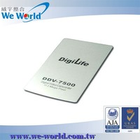Delicate finish aluminum nameplate logo for new electronic products