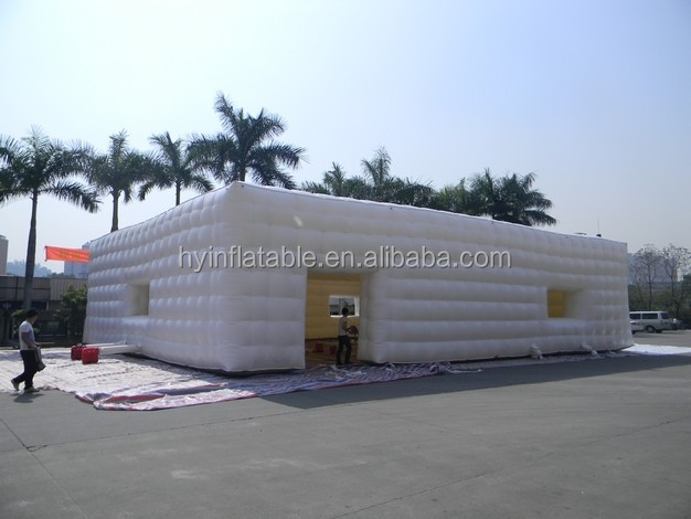 2015 hot sale inflatable cube tent