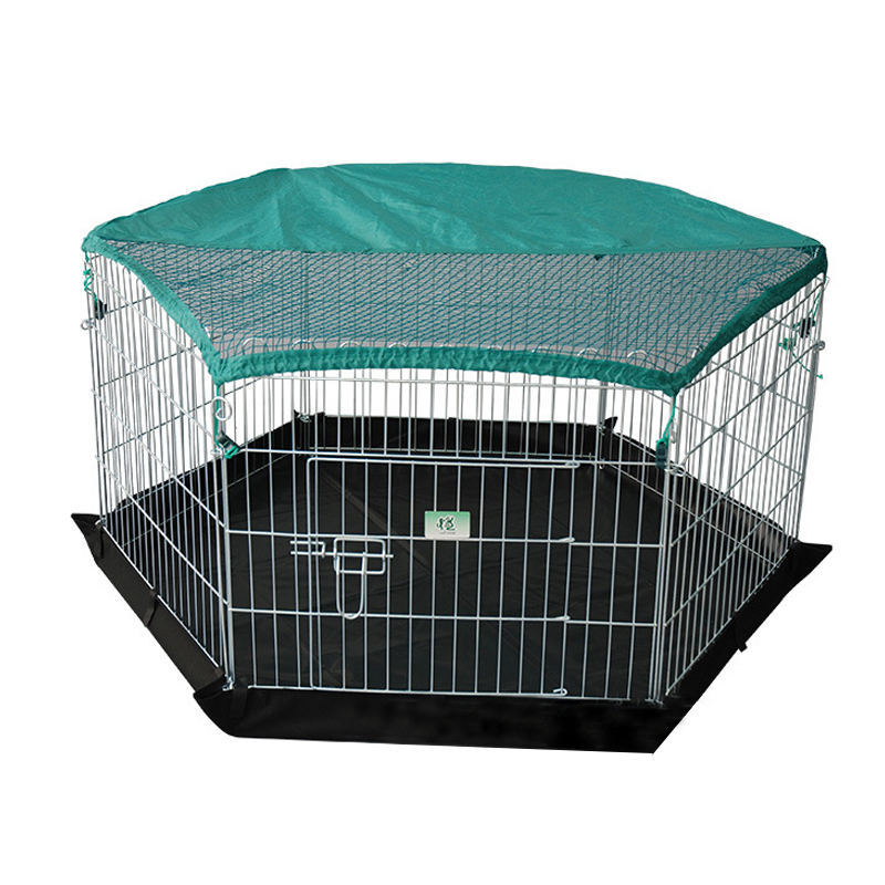 Light Weight Soft Portable metal dog fence