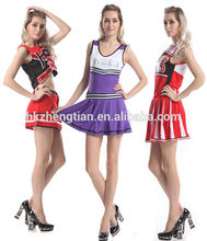instyles Ladies Glee Cheerleader Costume School Girl Full Outfits Fancy Dress Uniform online shopping for clothing