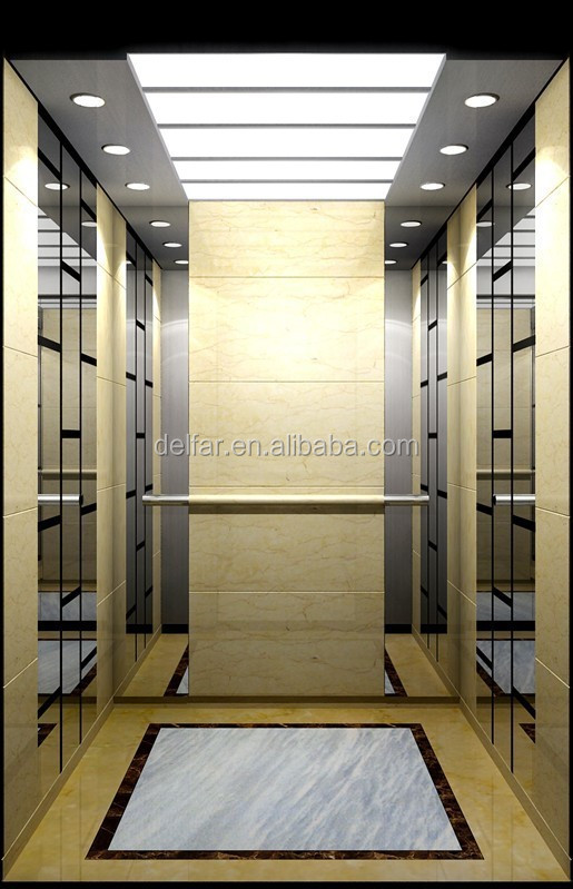 China etching mirror used home elevators for sale buy Homes with elevators for sale