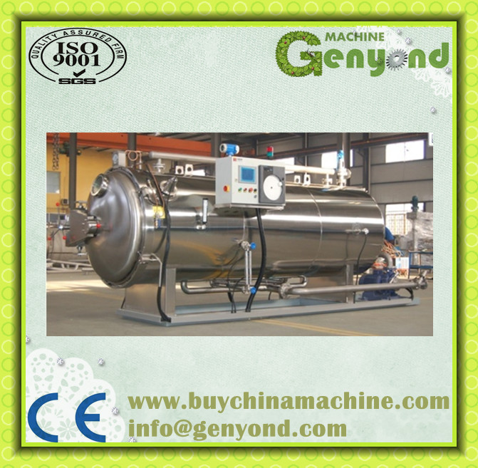 Automatic new atmosphere food retort machine /sterilizing retort machine for food processing