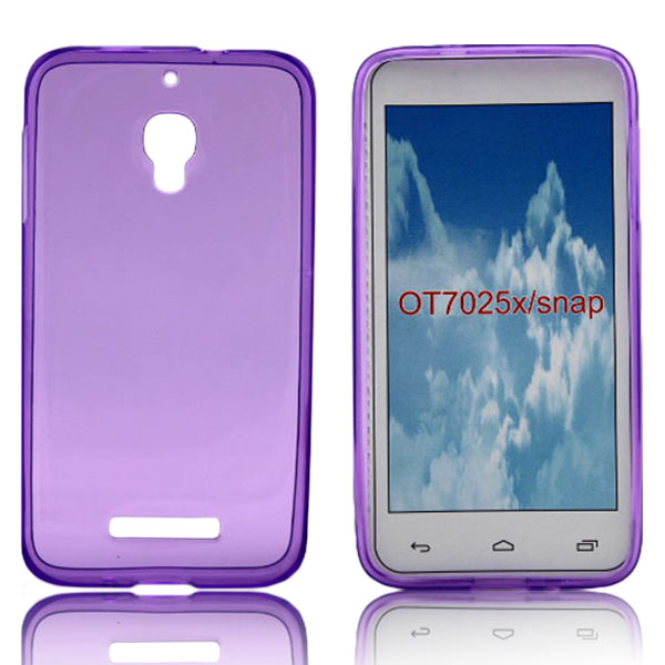 TPU back cover case for Alcatel one touch snap 7025d