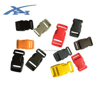 Colorful plastic buckles for belts,side relaese plastic buckles
