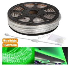 Green 110-120 V AC Waterproof IP65 LED Rope Lights, LED Tape