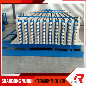 YURUI vertical/horizontal moulding semi / full automatic EPS concrete wall panel making machine