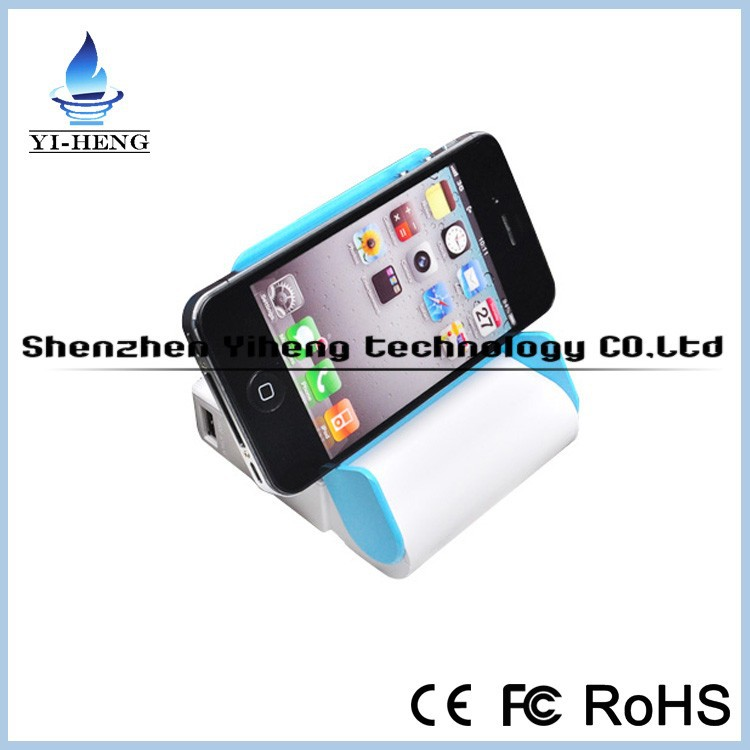 High capacity 4 18650 battery power bank 10400mAh portable <strong>mobile</strong> emergency charger