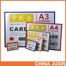 Wholesale New Product document case - pvc card holder - colourful fame card holder case poster frame
