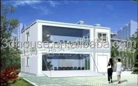 china Well-design Modern Layout Cheap Prefab container house/ office/ Prefab cabin