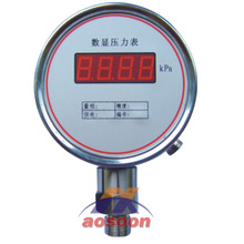 New digital pressure gauge overload pressure