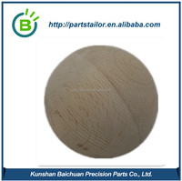 CNC Wood Part, Wood Ball For Toy BCS 0846