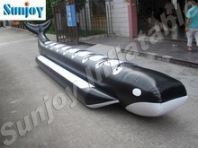 Whale Inflatable Boat Water Floating Speed Boat Beach Sea For Sale