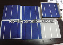 6x6 inch solar cells made in China
