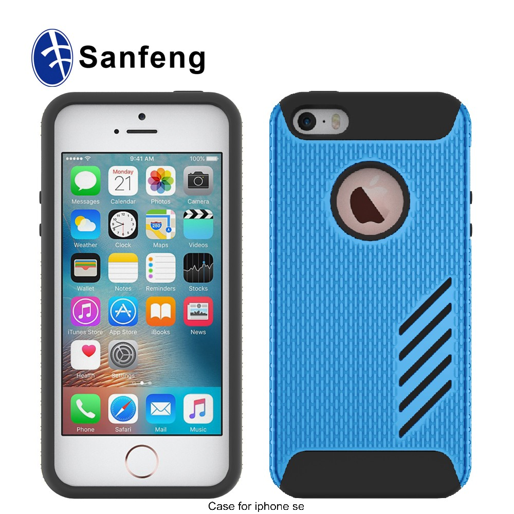 Factory wholesale tough Cell Phone Case Back Cover for Iphone 5S / SE