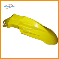 Yellow universal mudguard for motorcycle dirt bike abs fender flares